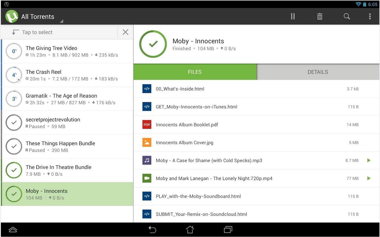 Скачать Торрент программу на Андроид бесплатно