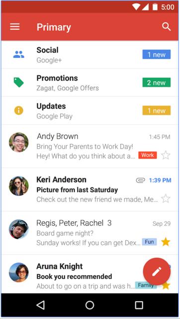 Скачать Gmail на Андроид
