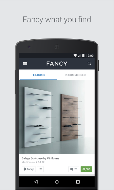 Скачать Fancy на Андроид