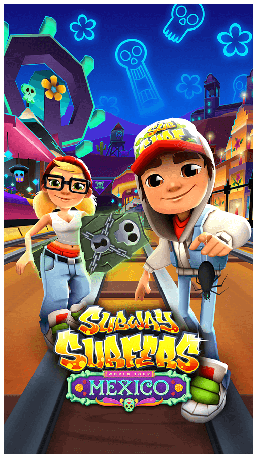 Скачать Subway Surfers на Андроид