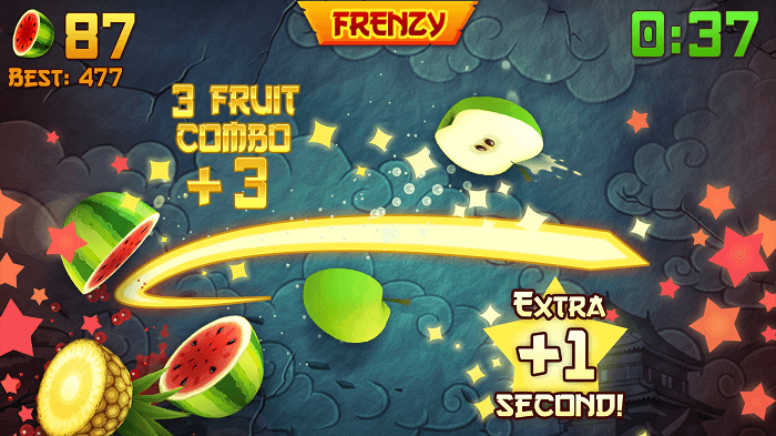 Скачать Fruit Ninja на Андроид