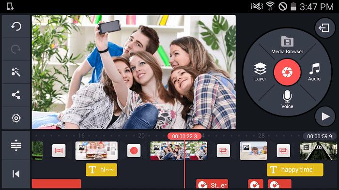Скачать KineMaster на Андроид
