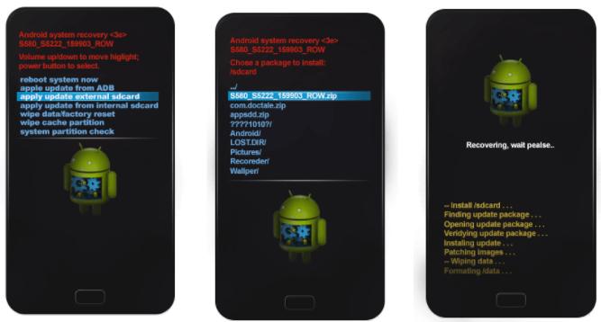 Как самостоятельно переустановить свой Android