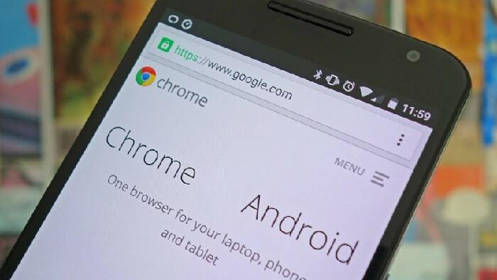 Новинки Chrome для Андроид