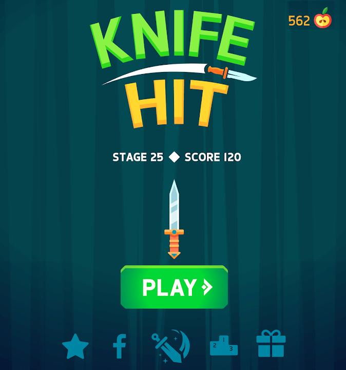 Скачать Knife Hit на Андроид