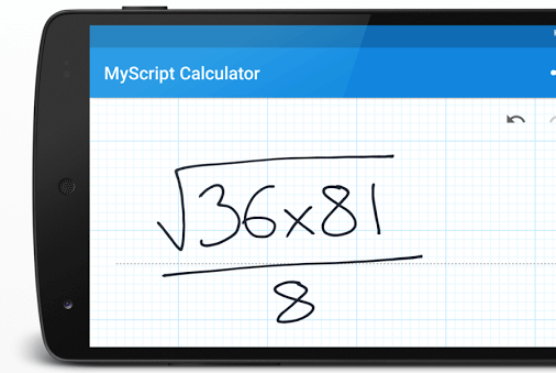 Скачать MyScript Calculator на Андроид