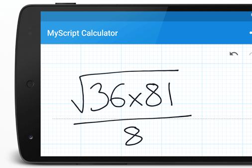 Скачать MyScript Calculator на Андроид