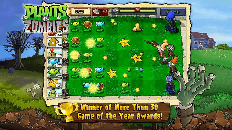 Скачать Plants vs. Zombies FREE на Андроид