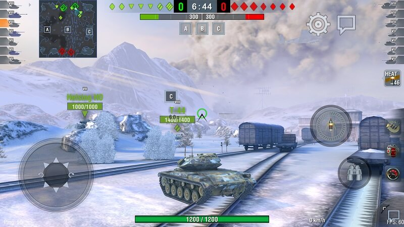 Скачать World of Tanks Blitz на телефон