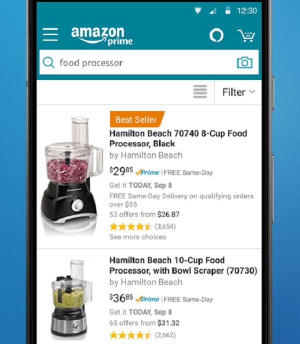 Amazon Shopping на Андроид