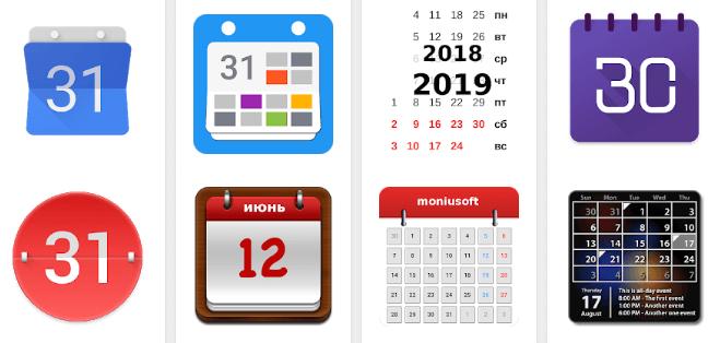 Скачать Календарь на телефон