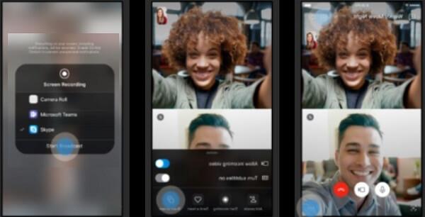 Совместный экран в новой версии Скайпа