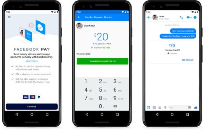 Как включить новый платёжный сервис Facebook Pay