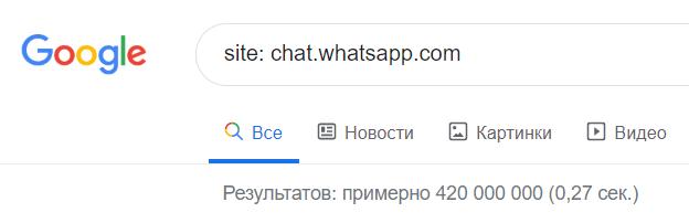 Информация о пользователях групп в WhatsApp открыта