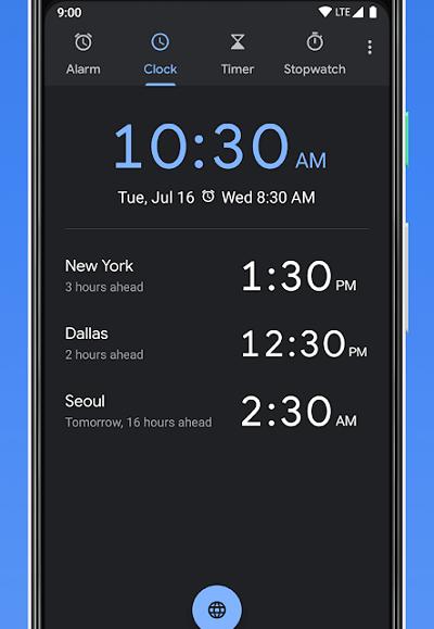 Скачать приложение часы