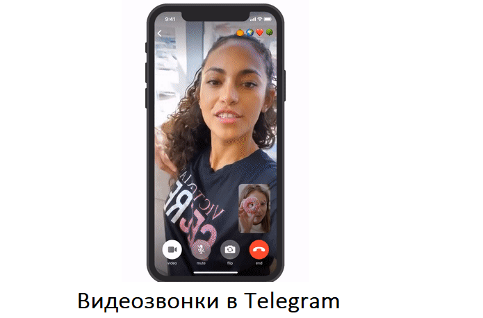 В Telegram на Андроид появились видеозвонки