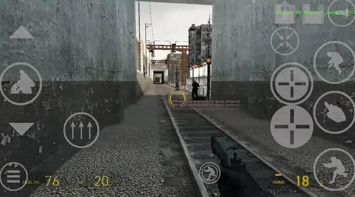 Знаменитую игру Half-Life 2 перенесли в Android