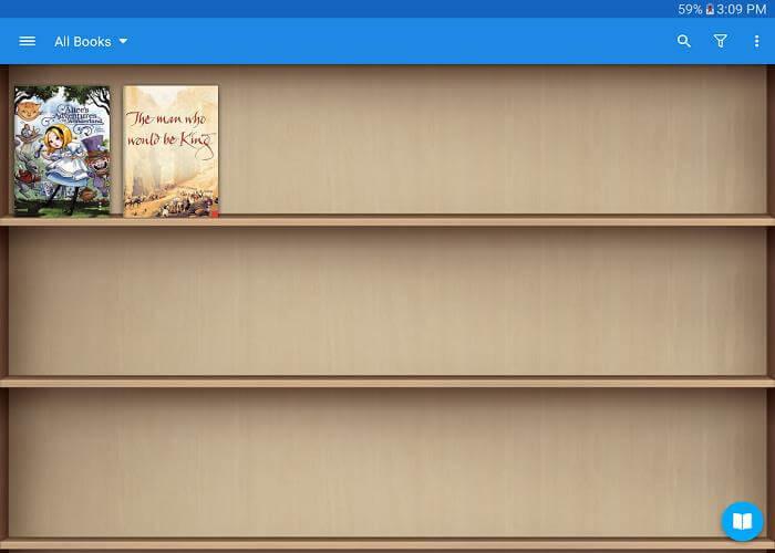 Скачать Moon+ Reader для Андроид