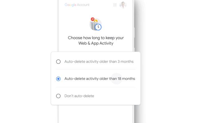 В Google личные данные зачистят автоматически