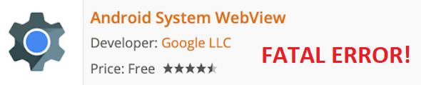 Мелкое обновление привело к падению Android-приложений