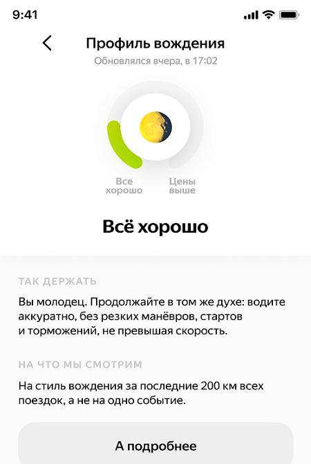 Новый алгоритм блокировки нарушителей в Яндекс.Драйв